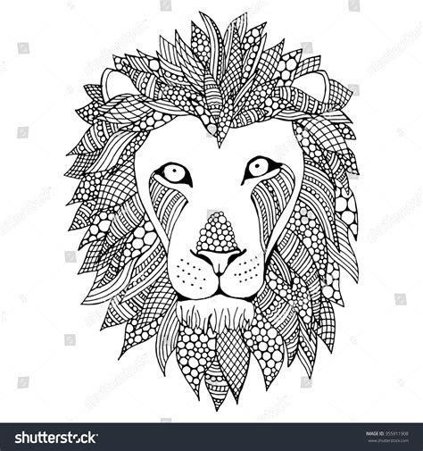 how to draw a doodle tiger doodle vector illustration black stock vector