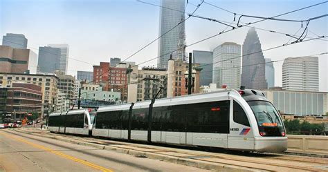 Metrorail Houston Tx Light Rail Siemens S70