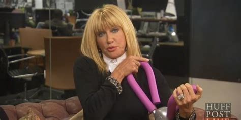 dose suzanne somers sell hair dye suzanne somers says her vibrating thighmaster makes sex