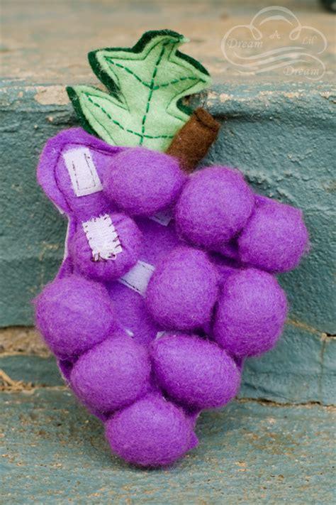 felt grapes pattern felt food grapes dream a lil dream