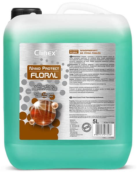 Shimura Offers Protection For Your Nano by Liquid Cleaner Clinex Nano Protect Floral 5 L 70 334