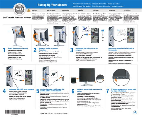 dell computer monitor 1907fp user guide manualsonline