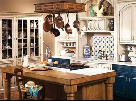 country blue kitchen cabinets country or rustic kitchen design ideas