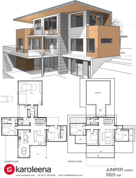 custom house plans with photos best 25 modern home design ideas on modern