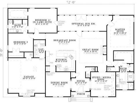 home floor plans with 2 master suites 3 bedroom 2 bath traditional house plan alp 07bn