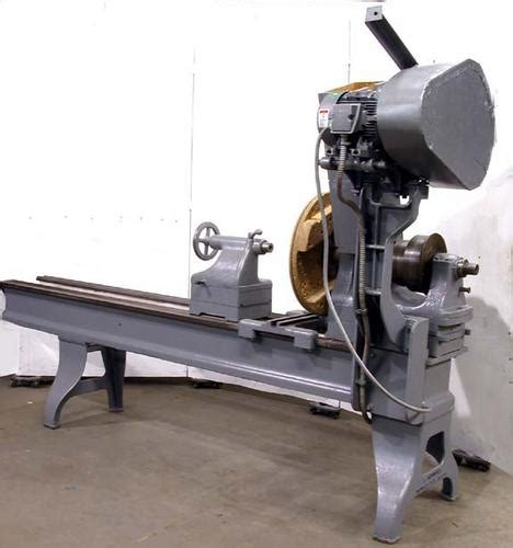 pattern makers wood lathe photo index l robbins large pattern makers lathe