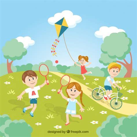 parque de agua divertido juega gratis en paisdelosjuegoses view ni 241 os jugando en el parque descargar vectores gratis