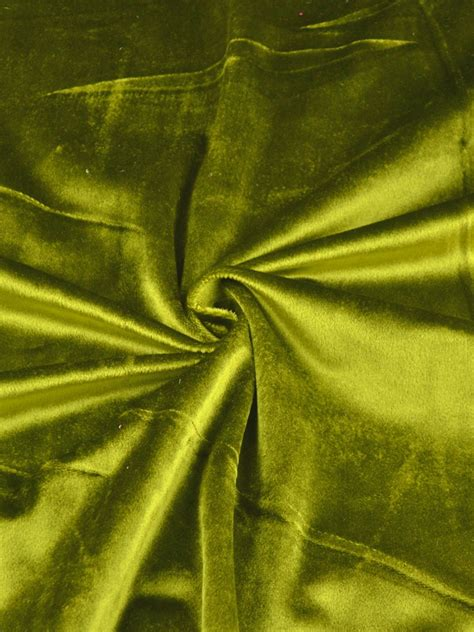 Velvet And Green hotham green and blue plain ready made concealed tab top blackout velvet curtains