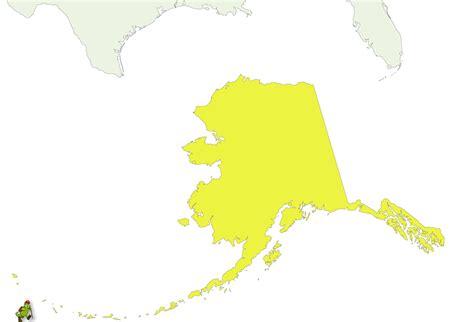 united states map plus alaska alaska