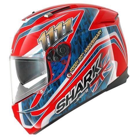 Motorradhelm Shark Speed R by Carl Fogarty Shark Speed R Series 2 Foggy Helmet Replica