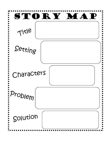 writing a story template 10 story map templates free word pdf format