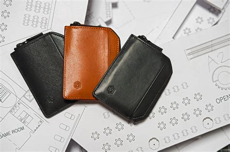 design milk wallet capsule s new sophisticated minimal wallet and passport