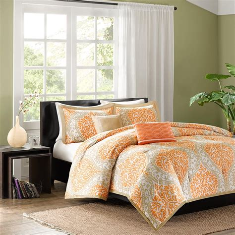 Orange Bedding Sets Orange Bedding Sets Beautiful Earthy Decor For Any Bedroom Decor