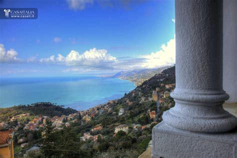 vista mare liguria camogli vendita villa di lusso vista mare