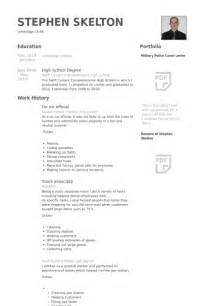 Official Resume Format by Official Resume Sles Visualcv Resume Sles Database