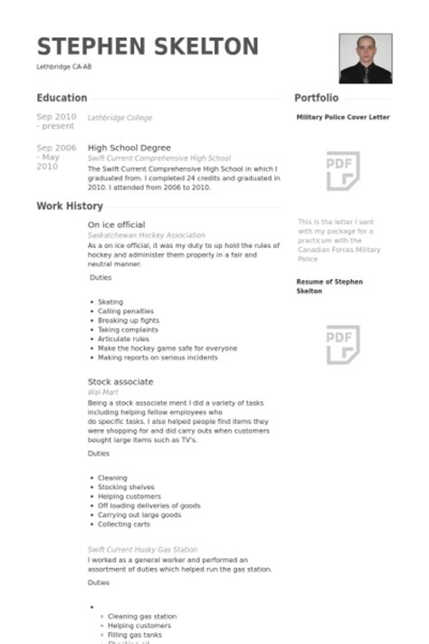 official resume template official resume sles visualcv resume sles database