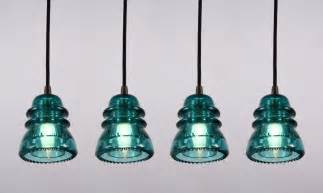 Pendant Lighting Sale Industrial Pendant Lights Made From Antique Glass Insulators Darkened Brass Fittings Nc781 For