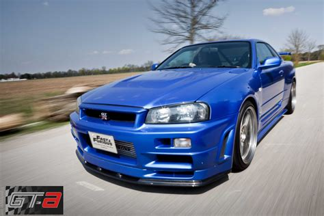 nissan skyline 2002 paul walker el nissan skyline gt r r34 de paul walker en a todo gas a