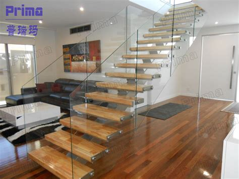 glass staircase railing images.