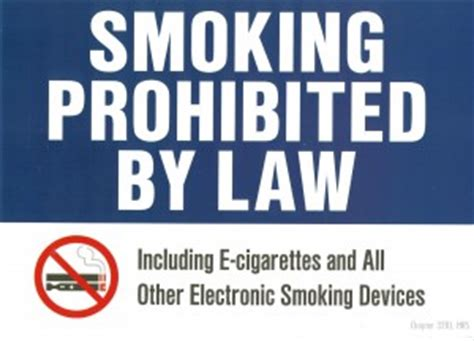 no smoking sign hawaii tobacco control chronic disease prevention health