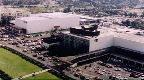 la times printing facility arts district real estate cbs pondering sale of historic television city studios in