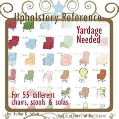 how much fabric do i need to reupholster a sofa upholstery reference charts