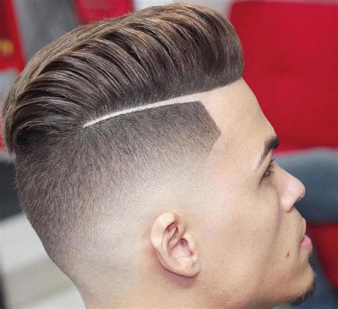 men hairstyles with lines fade haircut men s haircut taper vs fade hairs picture gallery