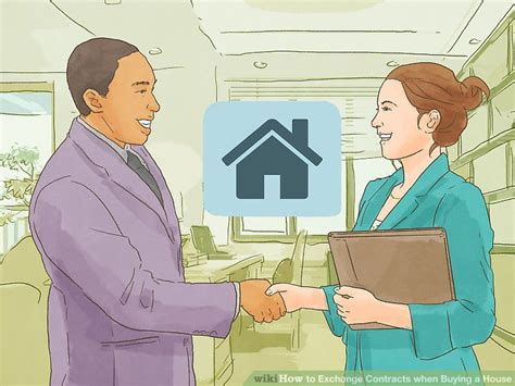 buying a house exchanging contracts 3 ways to exchange contracts when buying a house wikihow