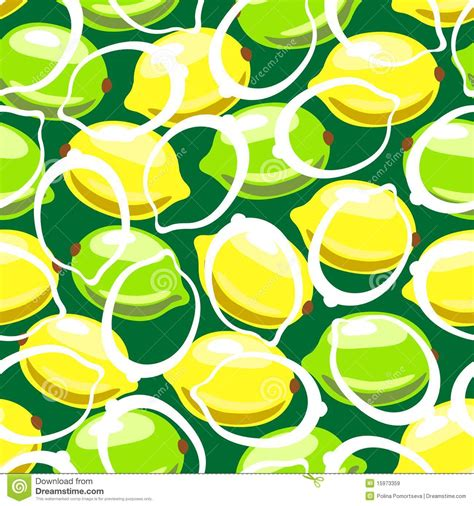 seamless lemon pattern lemon seamless pattern royalty free stock images image