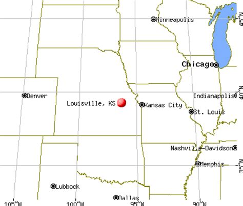 garden city kansas time zone louisville kansas ks 66547 profile population maps