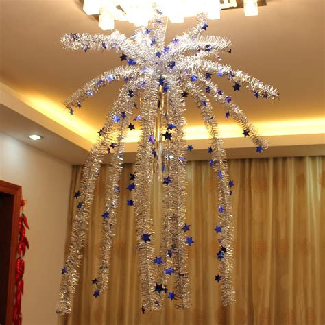 Beautiful Custom Christmas Ornaments Bulk #5: Indoor-Christmas-Hanging-Garland-Decorate-Falling-Flowers-Furred-Ceiling-Nacelle-with-Star-Snowy-Christmas-Tree-6pcs.jpg