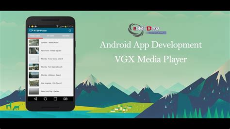 android mediaplayer tutorial android studio tutorial vxg player sdk youtube