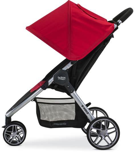britax b agile stroller recline britax b agile 3 stroller red