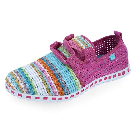 colored shoes s multi colored woven flat slip on sneakers casual