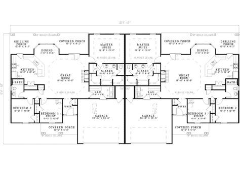 ranch duplex floor plans kendelcrest ranch duplex plan 055d 0072 house plans and more