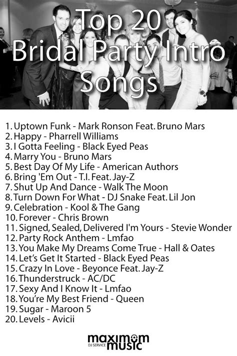 Wedding Marriage Song List by Best 25 Ideas On