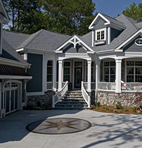 Exterior home ideas exterior transitional with chimney columns cross gable beeyoutifullife com
