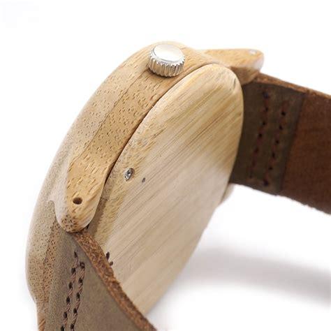New Quartz 2035 Quartz Pointer Logo Laser Customized Item Dropsh מוצר bobo bird a22 womens bamboo wooden watches japan quartz 2035 quartz pointer logo