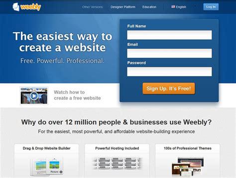 design a free website 10 best online website builders to create free websites