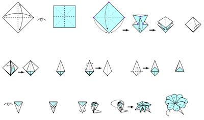 origami flowers pdf free origami flower petal make origami easy