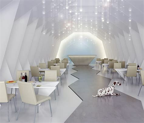 Origami Restaurant Interior Design Interior Design