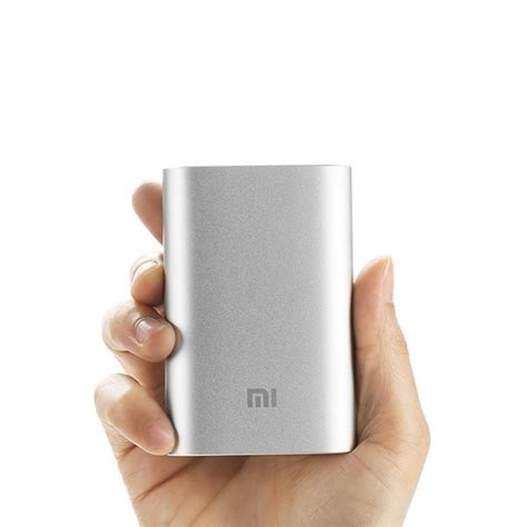 Powerbank Xiaomi Slim xiaomi slim mobile power bank usb charger 10000mah