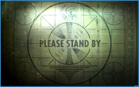 test pattern screensaver fallout 3 standby screensaver download free