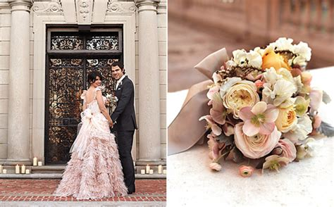 beautiful winter wedding color themes nytexas chic new york wedding once wed