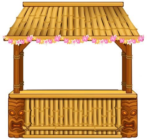 Tiki Hut Clipart by Free Tiki Bar Cliparts Free Clip Free Clip