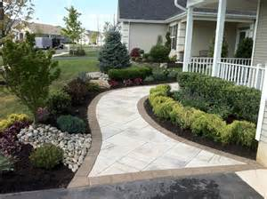 paver walkway traditional landscape newark by