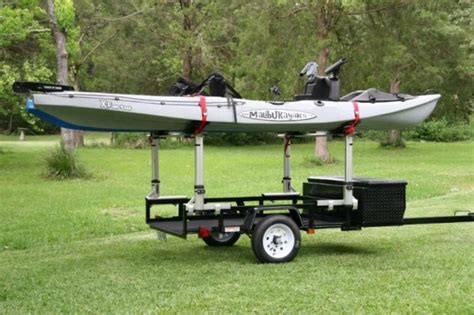 what is the biggest boat you can trailer in australia how to build a kayak trailer kayak trailers sale guide