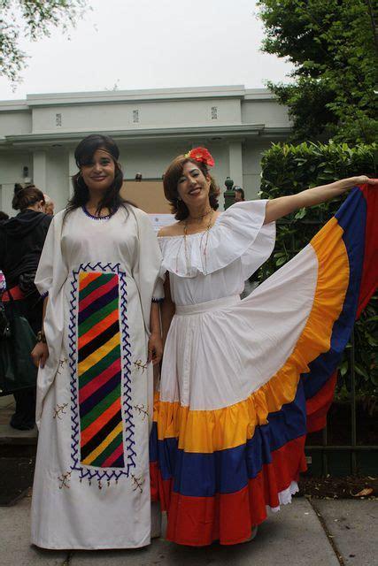 traditional dress of wayuu and llanera caracas ecuador