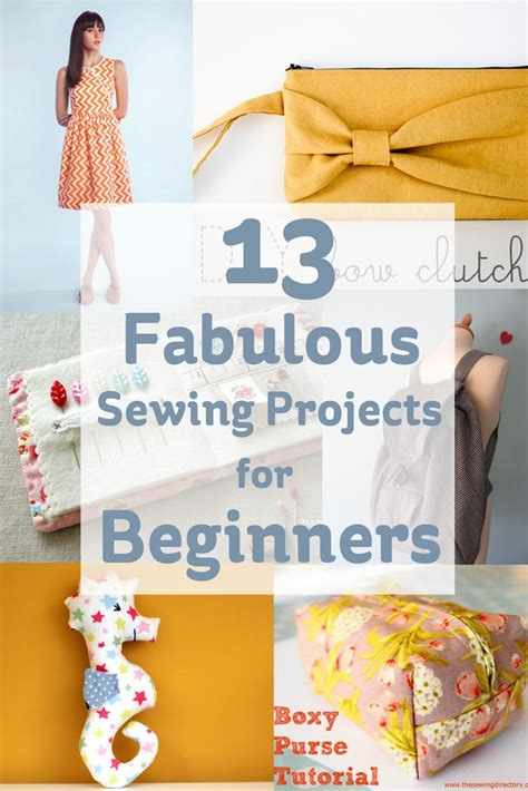 crafts sewing 13 fabulous sewing projects for beginners ideas