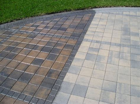 Paver Patio Sealer Paver Sealing Concrete Sealing